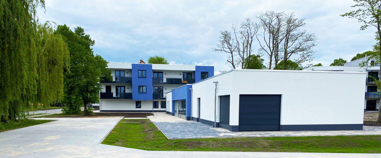 Außenanlagen und Gebäude Juli 2020